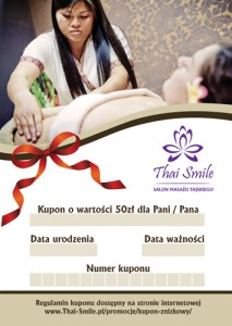 Thai Smile - Kupon zniżkowy