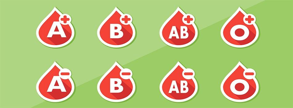 Nagłłówek - grupy krwi