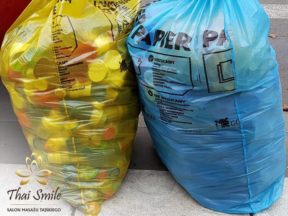 Działalność charytatywna Thai Smile 2019 - I love Ziemek - Nakrętki