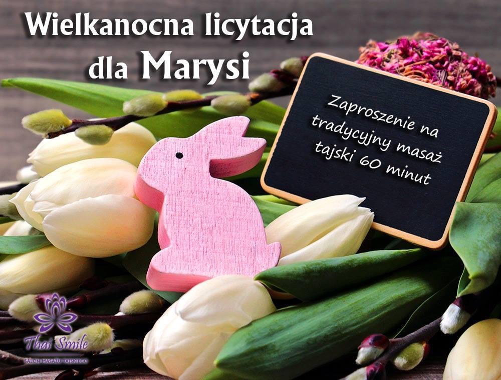 Działalność charytatywna Thai Smile 2019.04.08 - aukcja dla Marysi Włodarczyk
