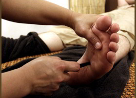 Thai Foot Massage - Reflexotherapy