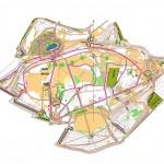 Bieg po zdrowie - mapa